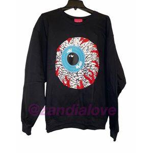 New Mishka keep watch crewneck sweater sz M,XL